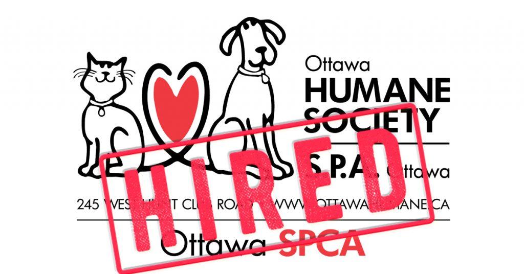 The Right Stuff Ottawa Humane Society